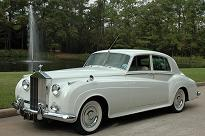 Rolls Royce classic wedding car Houston