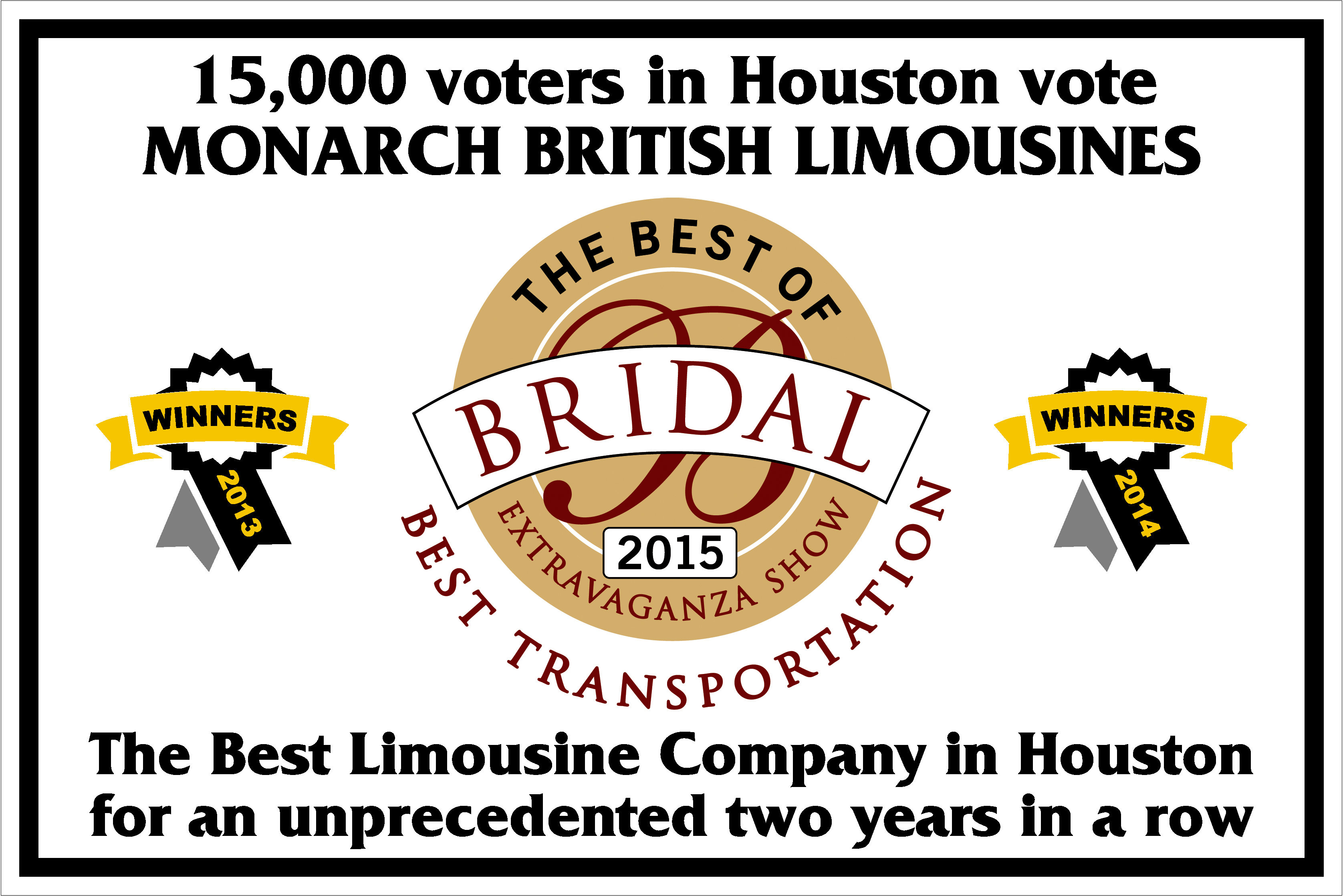 Houston A List, Best British Limousines Houston